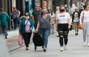 Face masks must be worn in shops from Monday