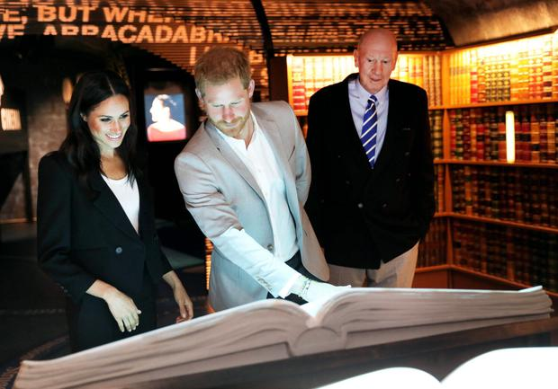 Prince Harry and Meghan are among those to visit EPIC