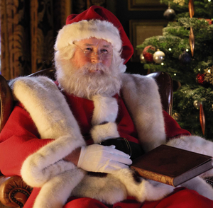Colm Meaney stars as Santa Claus in Aldi's new advert