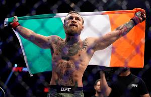 The one-time two-weight UFC champion Conor McGregor