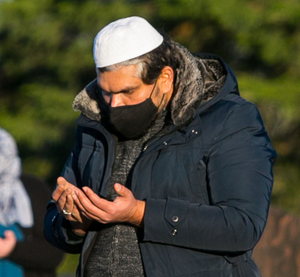 Sameer Syed in Newcastle Cemetery