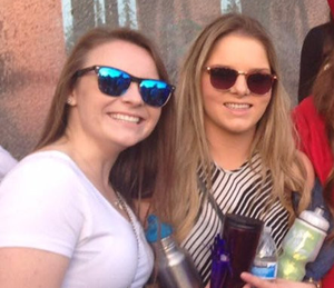 Ashley and Olivia, who died in the Berkeley balcony tragedy