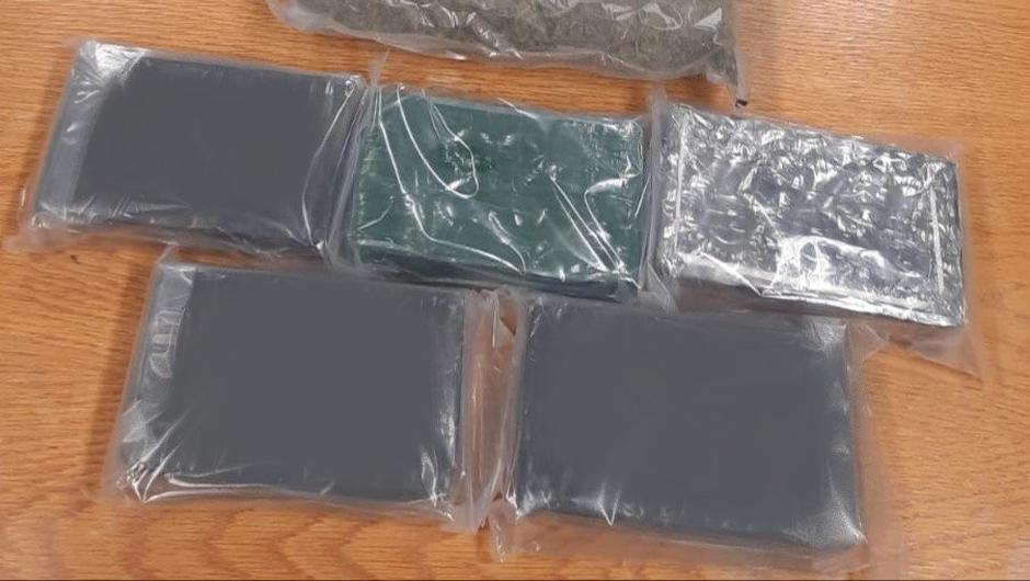 The €610,000 of cocaine and cannabis seized by gardaí in the raid
