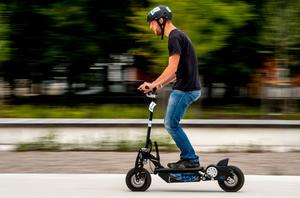 E-scooters currently cannot be lawfully used on public roads