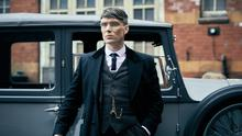 Cillian Murphy in Peaky Blinders - production has halted on the new series due to coronavirus