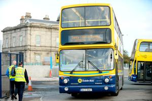 Tariq Jagoe was on the top deck of a Dublin Bus
