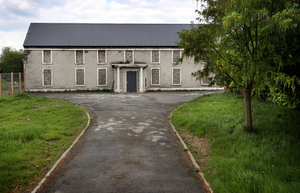 The derelict Glenwood House in Lucan where teenager Ana Kriegel was murdered