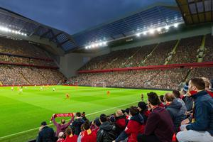 The proposed new stand at Anfield