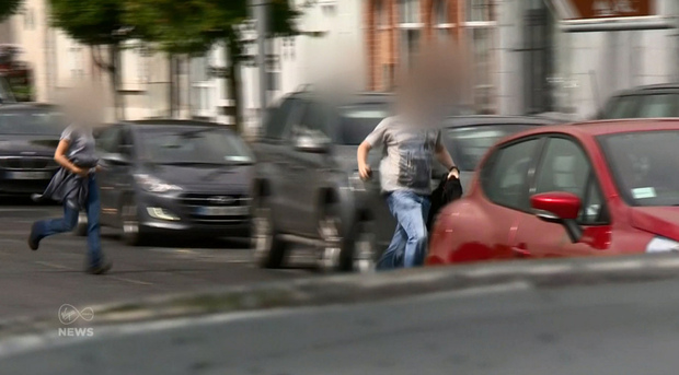 Gardai pounce after the bid to rob the ATM in Virginia