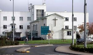 Security guard was treated at Portlaoise General