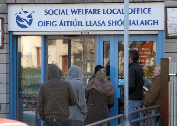Michelle McCullagh had been collecting her social welfare money