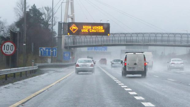 Traffic volumes on the M50 are up 7pc so far this year