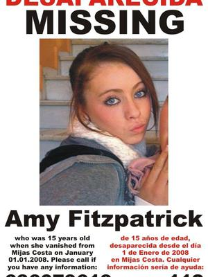 Amy Fitzpatrick (15) who has been missing since 2008