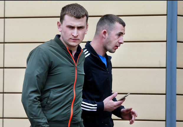 Ion Stamati and Mihail Bors leave court in Blanchardstown