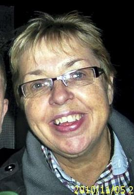 A photo of Susan McGee at the Coroners Court inquest into the death of Susan McGee on Store Street, Dublin.