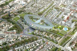 Artists' impressions of the new National Children's Hospital