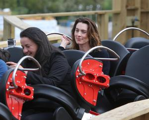 Nicola Anderson on the rollercoaster