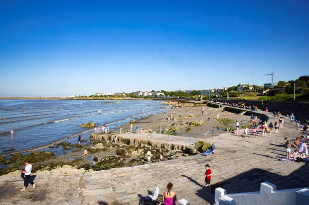 Seapoint Beach is among those where bathing has been banned for seven days