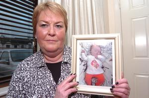 Leona Fay holds a picture of her grand-daughter Nicole (Seamus Farrelly)