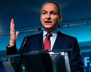 Micheál Martin said there would be no income-tax rise