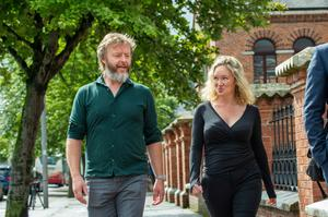 Former solicitors Keith Flynn and Lyndsey Clarke