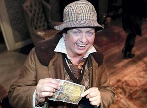 "Marty Morrissey in his one off role as ""Ulick"" in John B Keane,s ""Moll"" at the Gaiety Theatre"