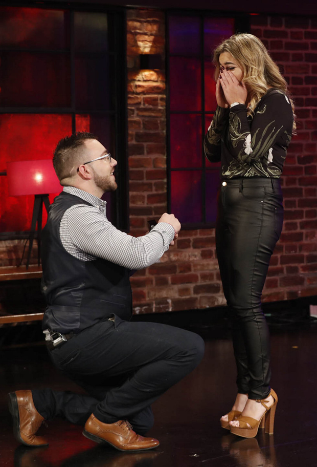 James Hennessy proposed to Siobhan Hiney on the show