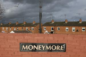 The young girl was arrested in the troubled Moneymore estate