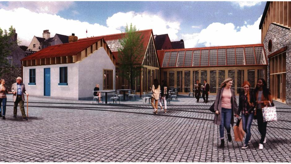 Plans are being proposed to redevelop the former tram terminus
