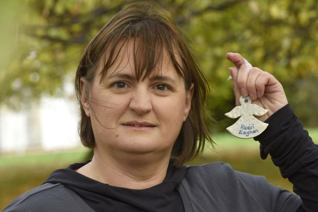 Kathleen Chada, whose sons Eoghan and Ruairi were killed by her husband, called for a new department to tackle domestic violence