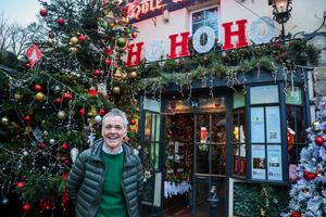 Owner Martin McCaffrey outside Dublin's Hole in the Wall