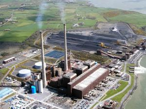 Moneypoint power plant was out of action for long periods