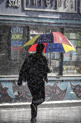 Heavy showers are expected to hit the capital this week