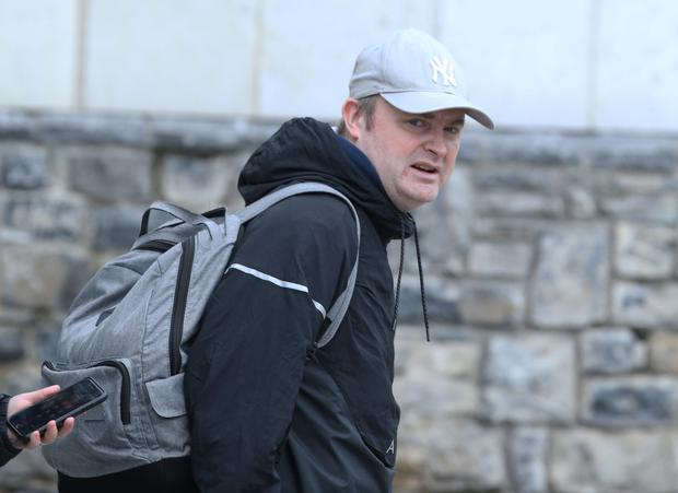 James Byrne was jailed for both firearm and drug offences. Pic: Collins Photo Agency