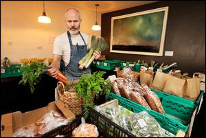 Forest Avenue owner John Wyer has turned greengrocer