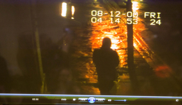 Trevor Deely on CCTV the night he disappeared