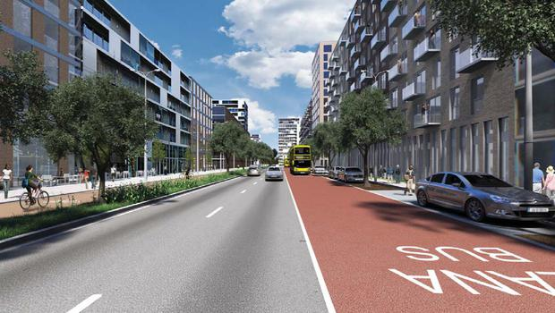How the Poolbeg West scheme will look when completed