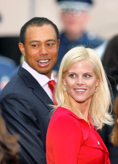 Tiger Woods and ex-wife Elin