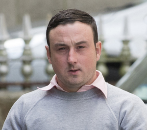 Aaron Brady (pictured) denies the murder of Det Gda Adrian Donohoe in January 2013