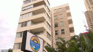 The Gold Coast apartment block from which Cian English fell to his death