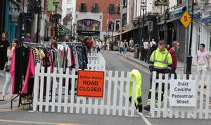 Duke Street saw plenty of footfall at the weekend