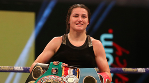 Taylor successfully defended her undisputed lightweight title on Saturday