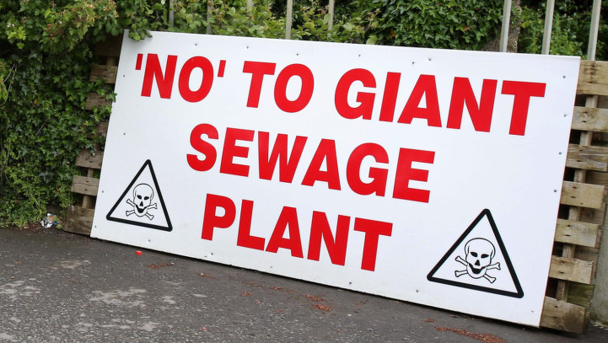 Sewage plant green light ignored 'what comes out of  pipe', court told