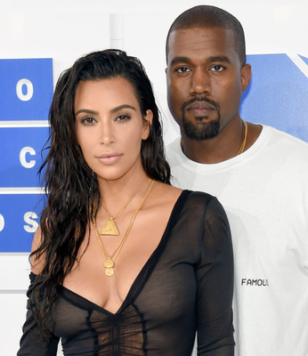 Kim Kardashian and Kanye West were clients of the travel firm. Photo: Getty Images