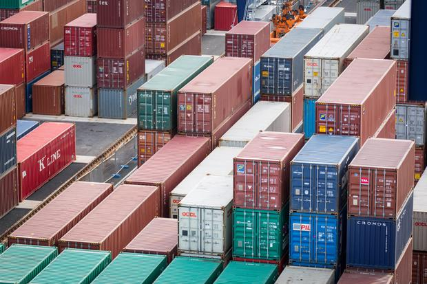 Counterfeit perfume was in a shipping container (Stock picture)