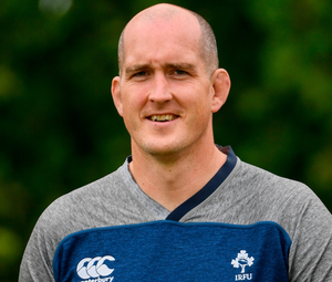 Leinster rugby player Devin Toner