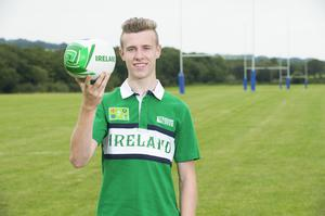 Cork Institute of Technology student Cameron Blair