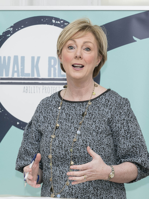 'We need to break stereotypical roles', says Regina Doherty