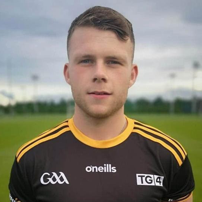 Talented GAA player Aaron Duffy was left with blurred vision after a glass was smashed in his face during a night out