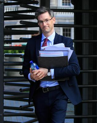 Dr Ronan Glynn at Covid-19 Committee meeting                   yesterday